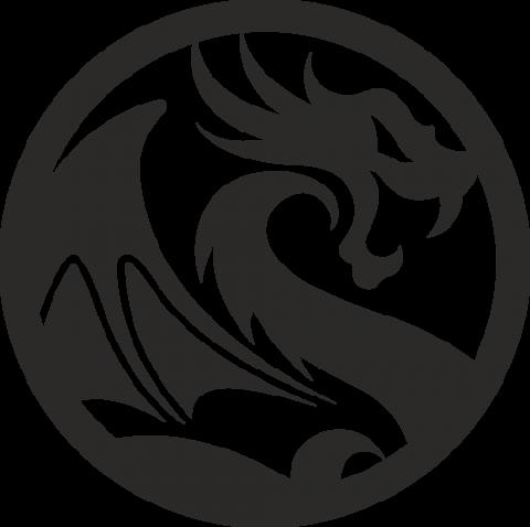 Стикер Дракон 4