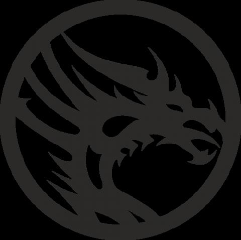 Стикер Дракон 7