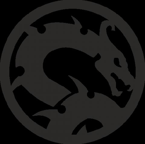 Стикер Дракон 11