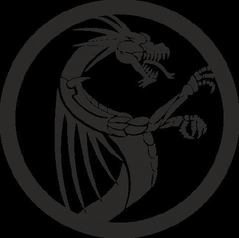 Стикер Дракон 12