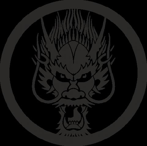 Стикер Дракон 13