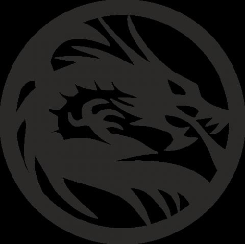 Стикер Дракон 15
