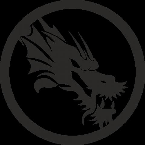 Стикер Дракон 16