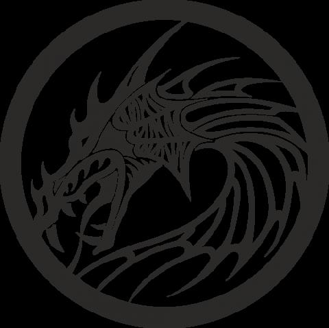 Стикер Дракон 18