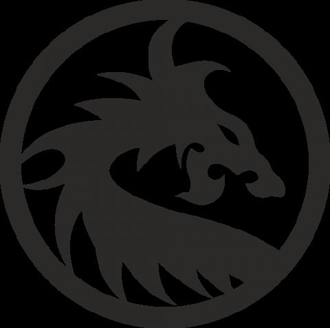 Стикер Дракон 20