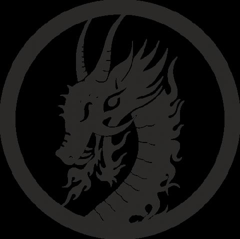 Стикер Дракон 22