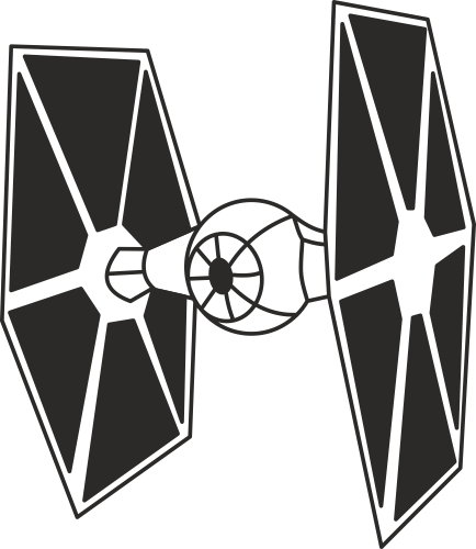 Стикер Tie Fighter