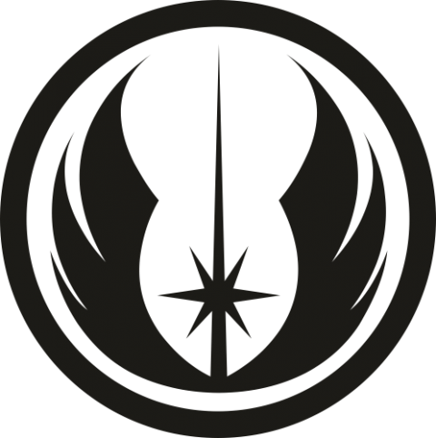 Стикер Jedi logo