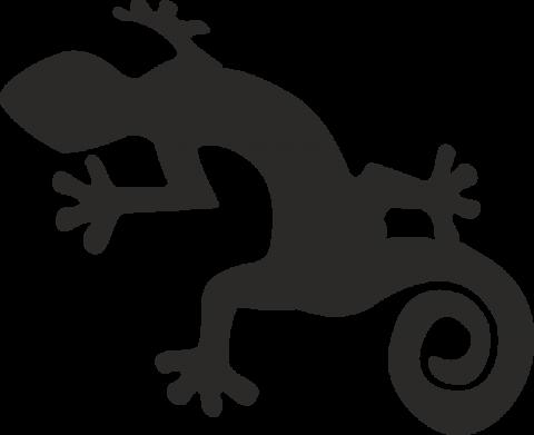 стикер гекон