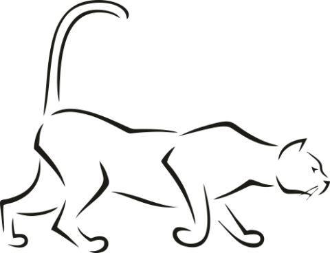Стикер Пума