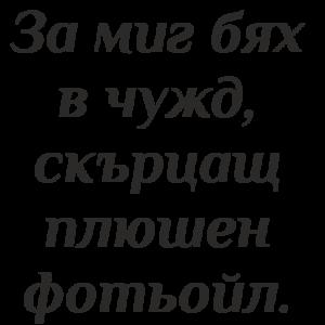 Букви и надписи